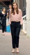 Хейли Этвелл, фото 118. Hayley Atwell - Outside ITV studios in London 01/08/'11, foto 118