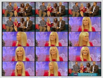 Emma Bunton---red dress--divine legs--12.10.2011--itv--UK