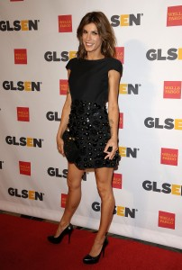 Элизабетта Каналис, фото 1150. Elisabetta Canalis the 2011 'GLSEN Respect Awards' in LA, 21.10.2011, foto 1150