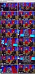 GRETCHEN CARLSON, leg lift - thigh shot - fox & friends - Dec 9, 2011