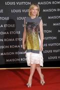 Кейт Бланшет, фото 1000. Cate Blanchett leaving Maison Louis Vuitton Roma Etoile Cocktail in Rome - January 27, 2012, foto 1000