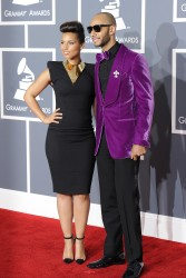 Алиша Киз (Алисия Кис), фото 3054. Alicia Keys 54th annual Grammy Awards - 12/02/2012 - Red Carpet, foto 3054