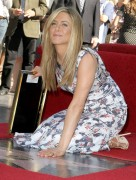 Дженнифер Анистон, фото 8629. Jennifer Aniston Inducted into the Hollywood Walk Of Fame - February 22, 2012, foto 8629