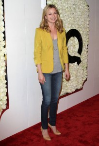 Эмили Ванкамп, фото 818. Emily VanCamp QVC's'Buzz On The Red Carpet' Cocktail Party at Four Seasons Hotel in Beverly Hills - 23.02.2012, foto 818