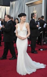 Руни Мара, фото 496. Rooney Mara 84th Annual Academy Awards in LA, 26.02.2012, foto 496