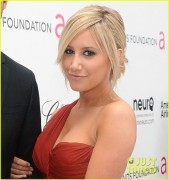 (ADDS)Ashley Tisdale @ Elton John Academy Awards Prty 2/26/12