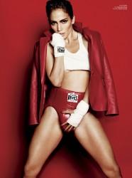 Дженнифер Лопес, фото 8810. Jennifer Lopez V magazine's Spring sports issue, foto 8810